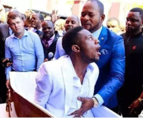 The man who was 'resurrected' by Pastor Alph Lukau in viral video has been Identified and arrested