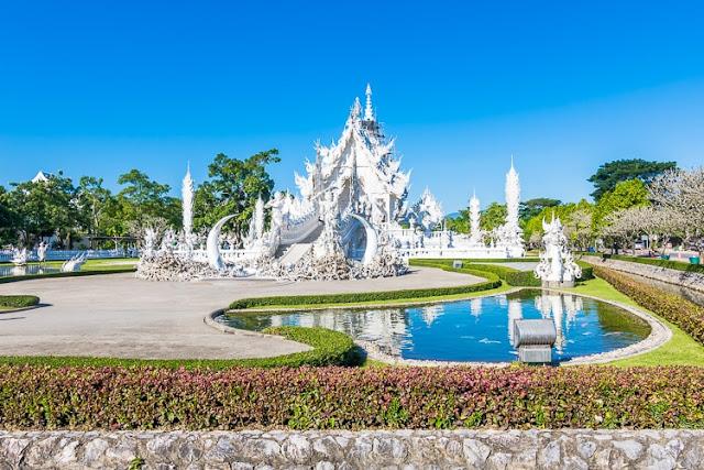 Wat Rong Khun Λευκός Ναός