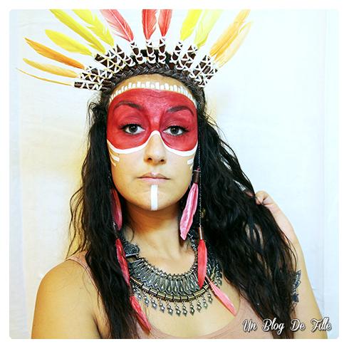 http://unblogdefille.blogspot.fr/2017/09/maquillage-artistique-natif-americain.html