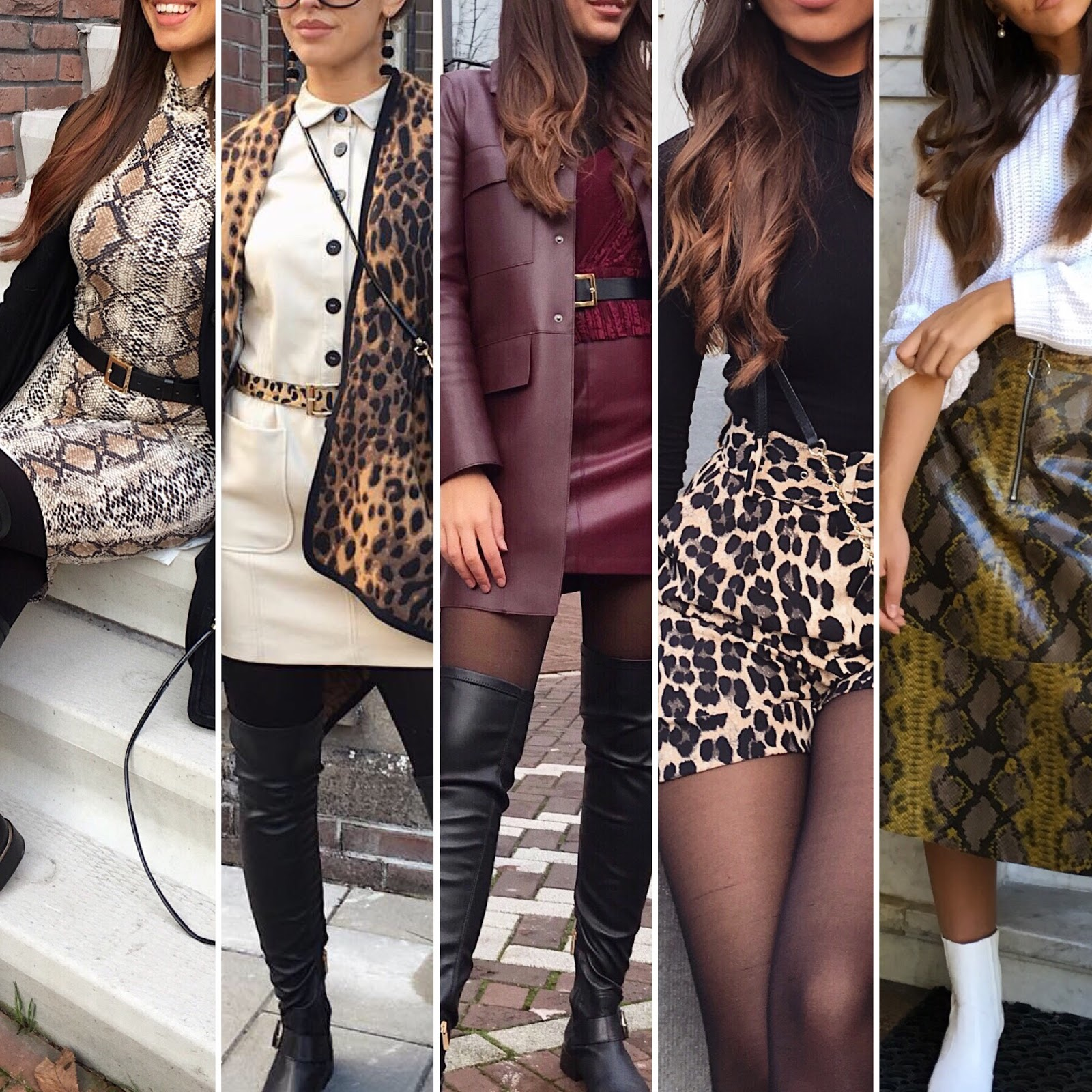 5X OUTFIT IDEAS FALL/WINTER 18
