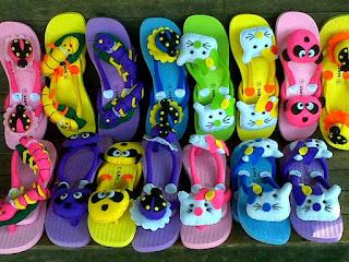 Grosir Sandal Anak Lucu