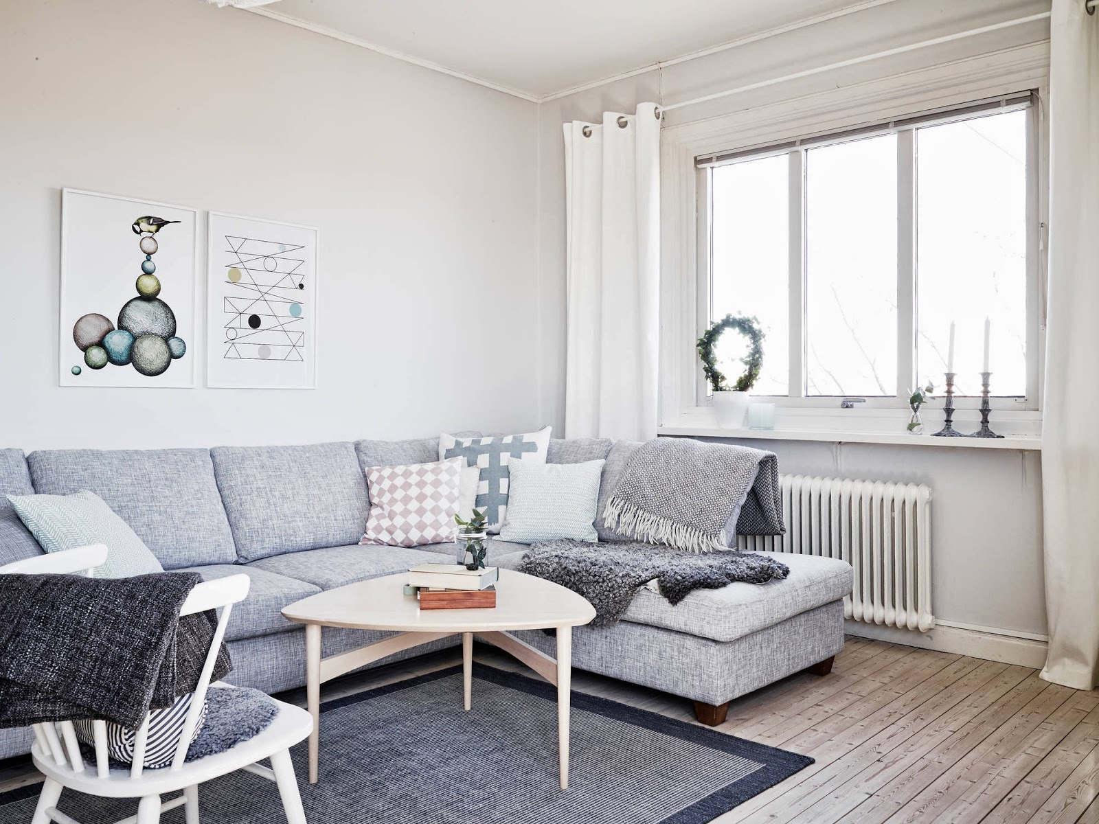 My Scandinavian Home: A Light And Airy White And Grey