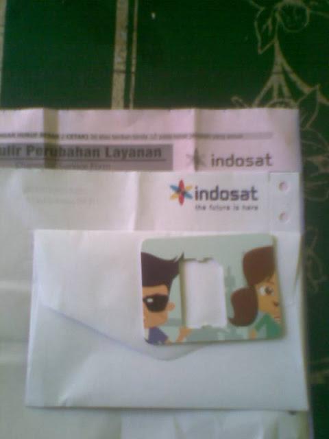 Mengganti Kartu Indosat