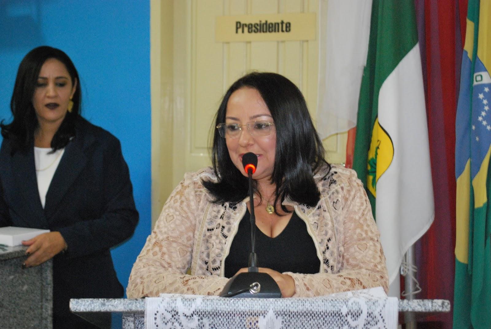 Resultado de imagem para Prefeita Sandra Jaqueline