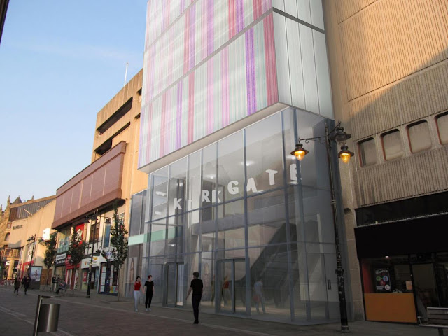 Kirkgate centre to get glazed lobby and coloured cladding as part of £1m scheme