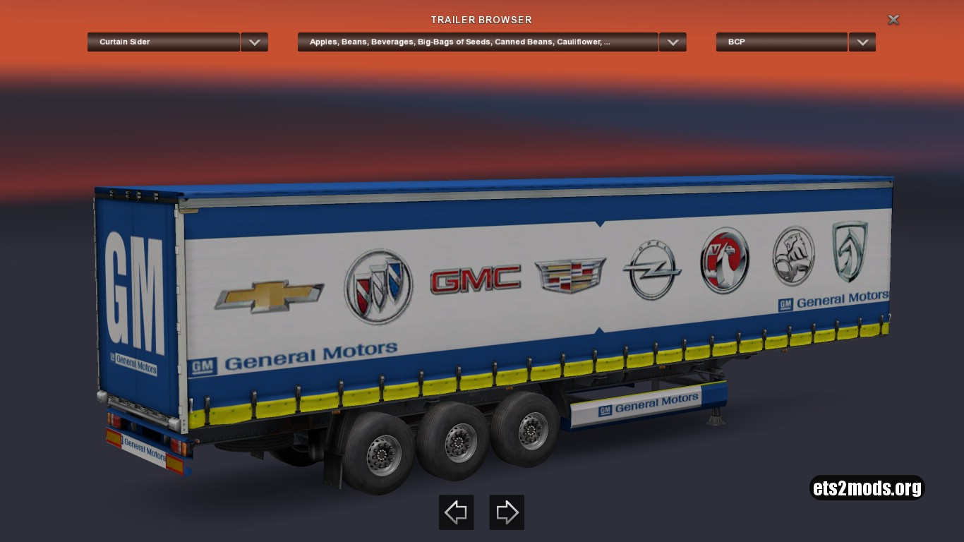 Trailer General Motors