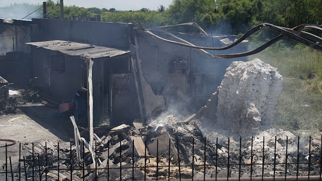 kebakaran pabrik petasan di tangerang