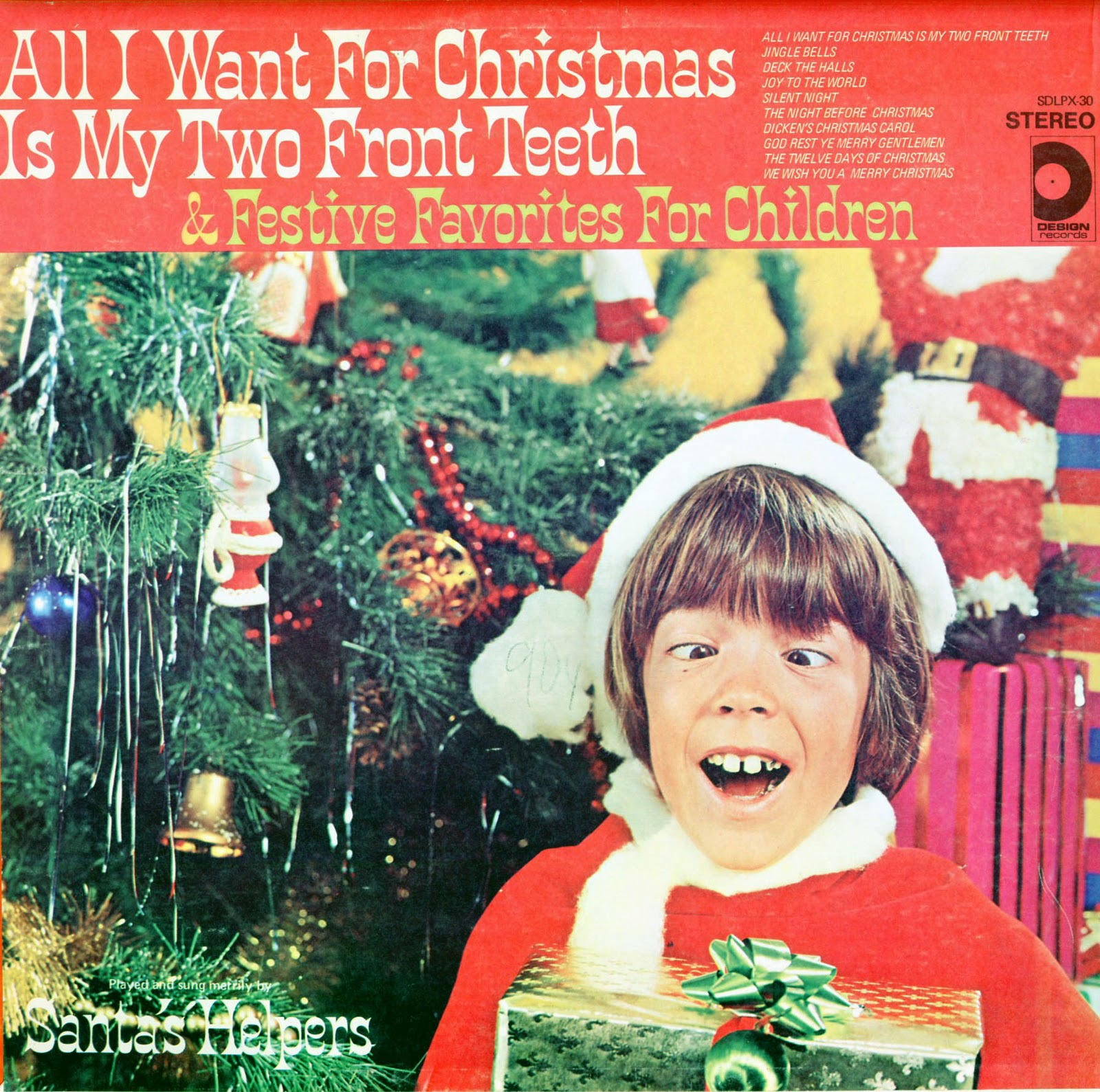 BLACK TEETH AND BUSTED DREAMS: All I Want For Christmas Is ...