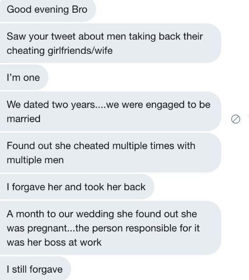 Stella Dimoko Korkus com: Twitter Stories On Forgiving A