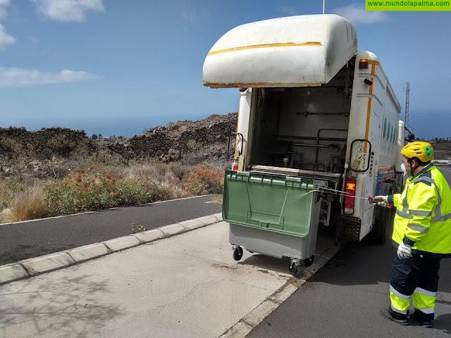 El Consorcio refuerza el servicio de lavado de contenedores para combatir la expansión del COVID-19