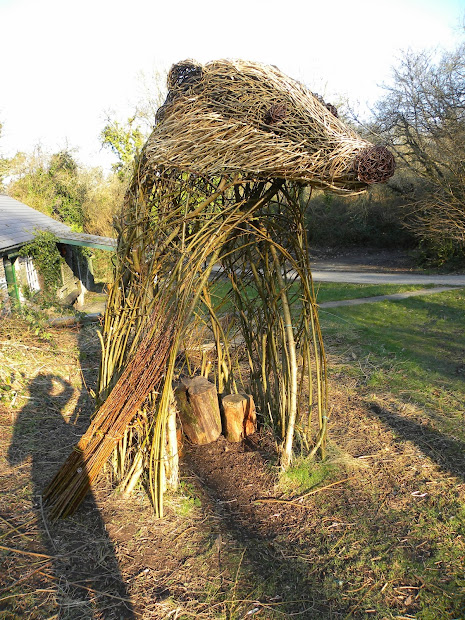 Michelle Cain Living Willow Sculpture Installation