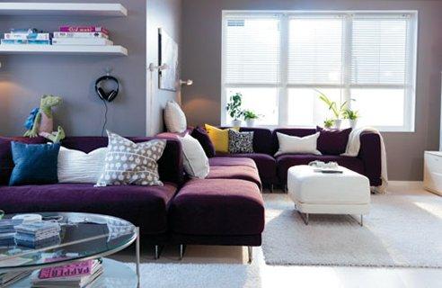 Idea Untuk Dekorasi Ruang Tamu Ikea Bahagian 6