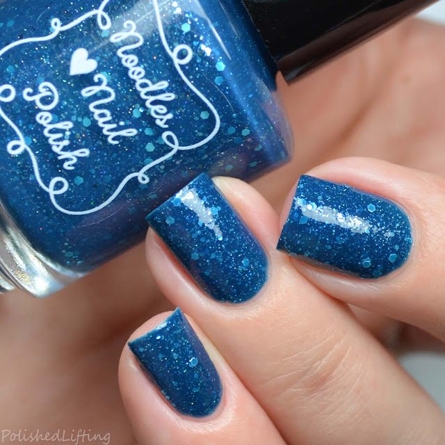 blue crelly nail polish