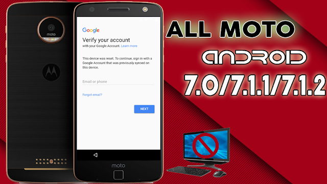 MOTOROLA BYPASS FRP GOOGLE ACCOUNT ALL MOTO
