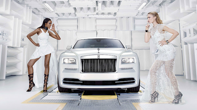 "Rolls-Royce Motor Cars unveils ""Wraith - Inspired by fashion"""