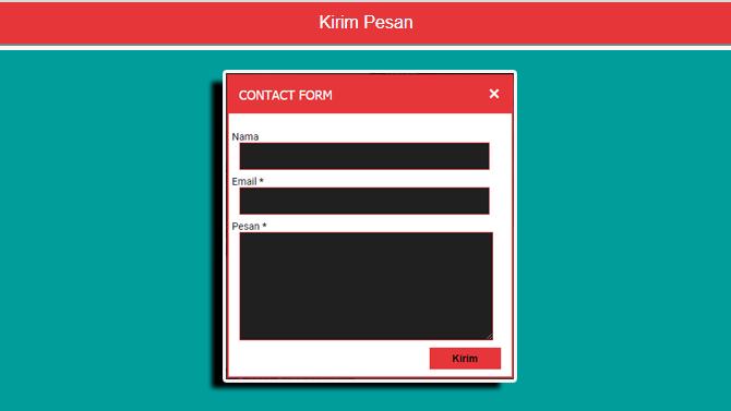 Membuat Lightbox Widget Contact Form Blogger