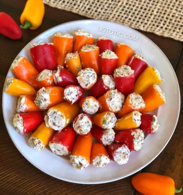 Party Poppers (Easy Appetizer For A Crowd) #appetizer #fingerfood