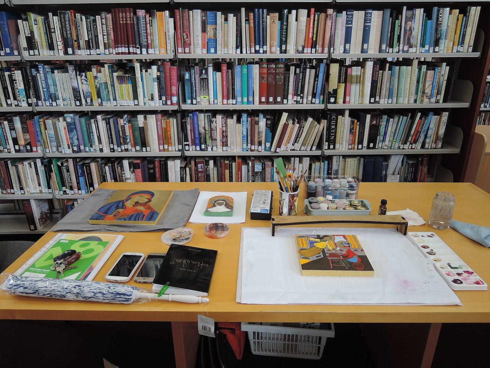 The Carmelite Library: The Inaugural Exhibition of the Seraphim Icon
