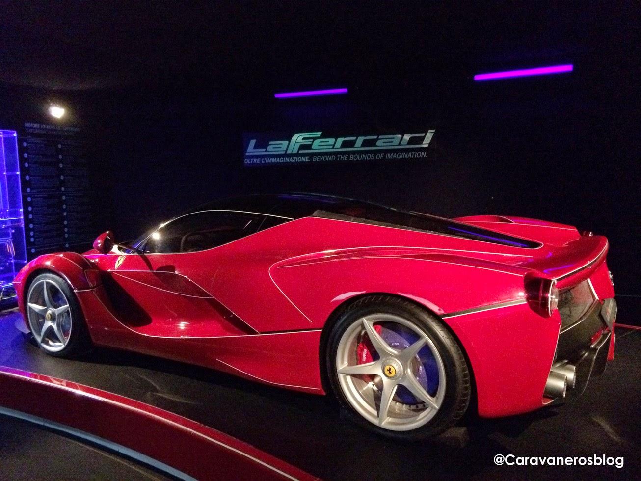 foto de La Ferrari. Galleria Ferrari. Maranello | caravaneros.com