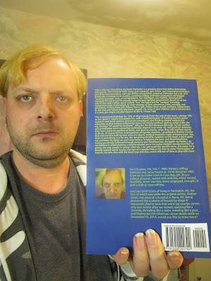 Travis With Defender Book, Shot C