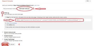 Cara Daftarkan Blog Ke Mesin Pencari google