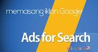Memasang Google Adsense for Search
