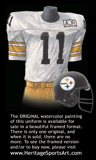 9872ac1f8 Pittsburgh Steelers Uniform and Team History
