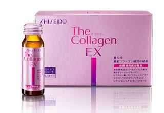 Sản phẩm collagen shiseido ex nước uống đẹp da