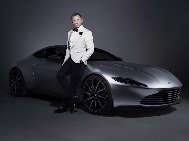Aston Martin DB10 Джеймса Бонда 007