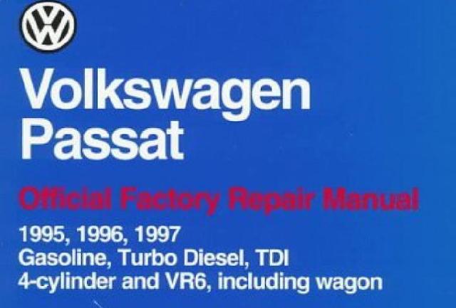 Volkswagen Passat Official Factory Repair Manual 95-97