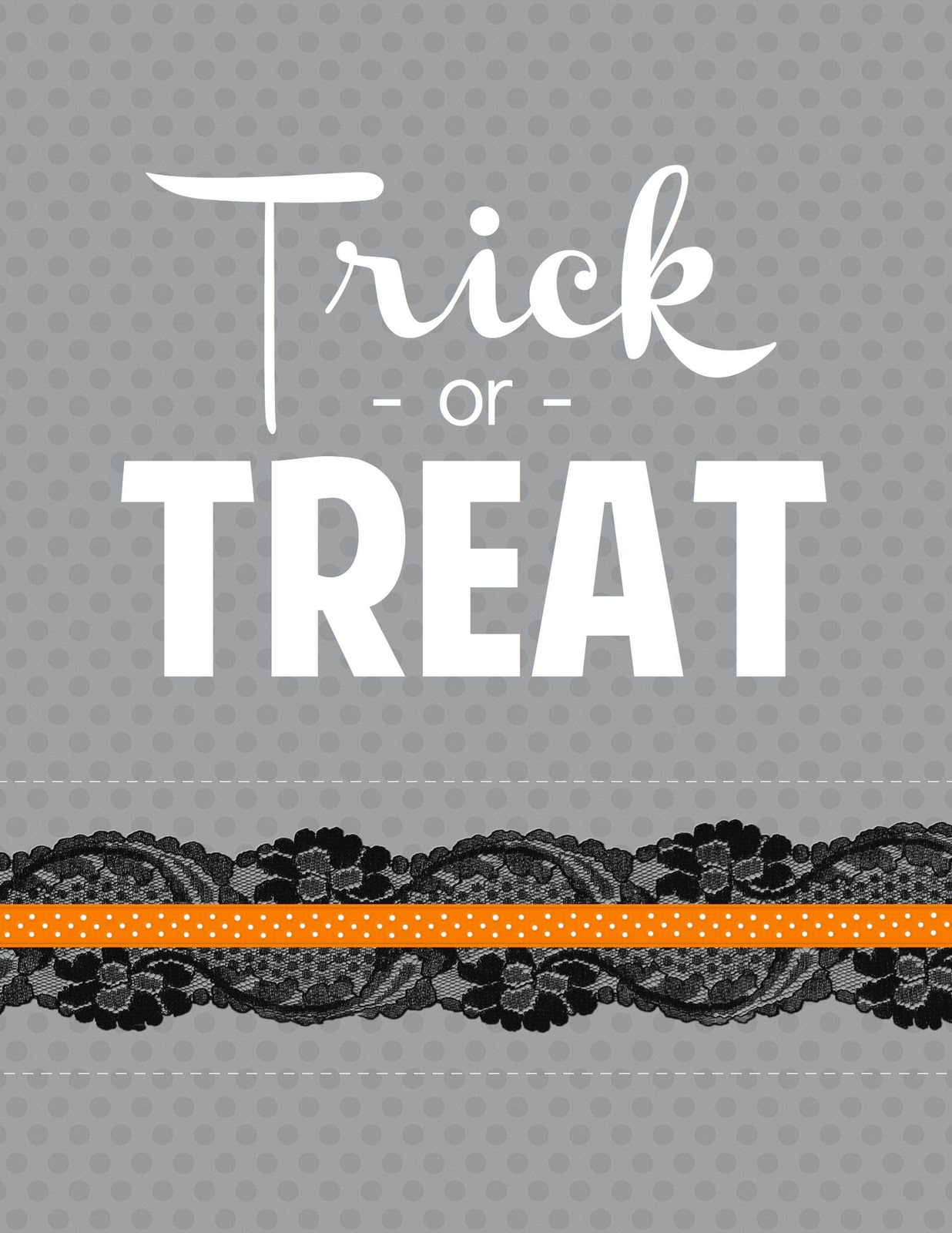 Stayathomeartist Free Trick Or Treat Halloween