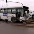 Un tren del Sarmiento chocó con un colectivo: dos muertos y 14 heridos