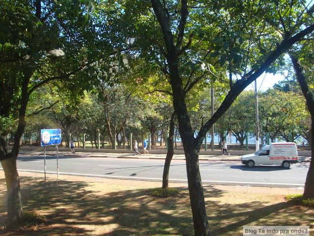 Lagoa do Taquaral em Campinas