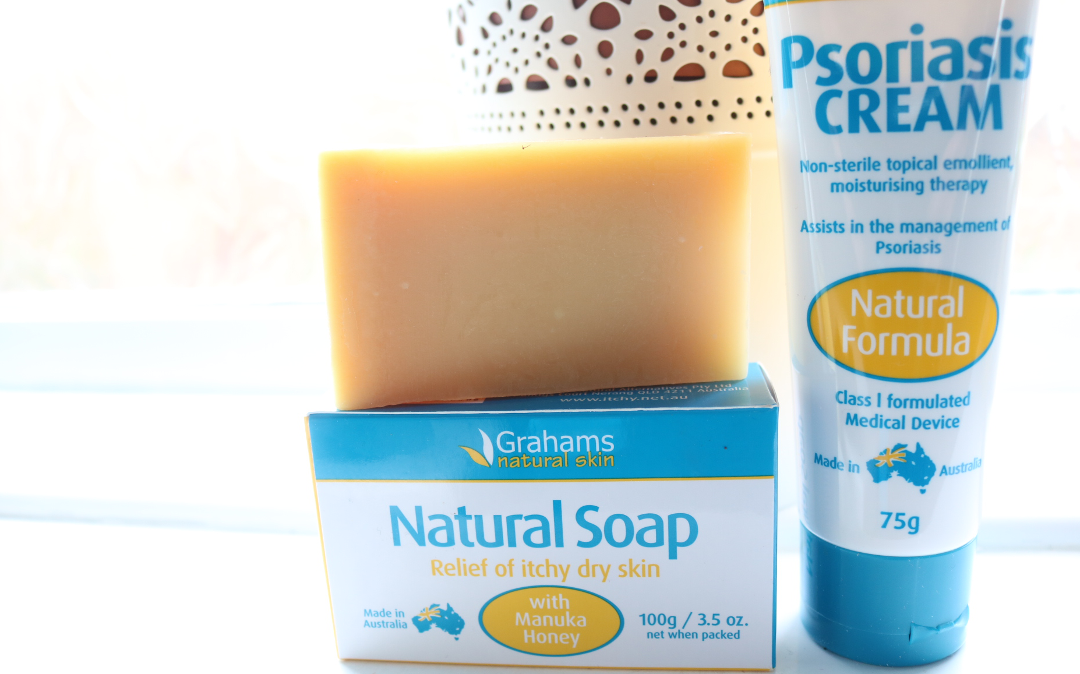 Grahams Natural Manuka Honey Soap for Dry Skin and Psoriasis Cream review
