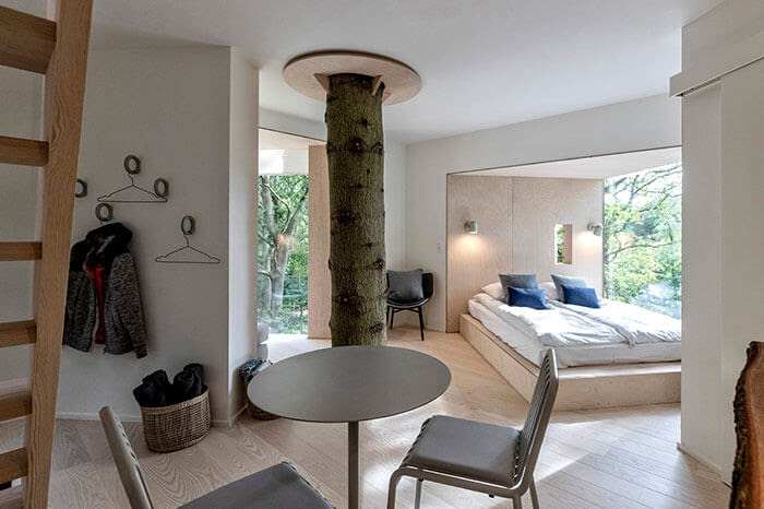 01-Dining-Area-Architecture-Treetop-Hotel-Tiny-House-www-designstack-co