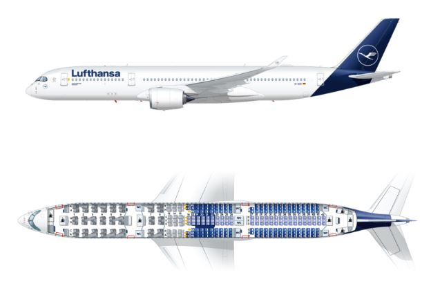 Airbus A350-900 seats