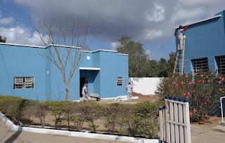 Prédio ao lado do Museu do Homem do Curimataú em Cuité passa por reformas
