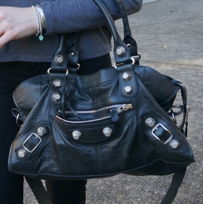 Balenciaga part time in black 2010 with SGH slouchy G21 hardware | awayfromtheblue
