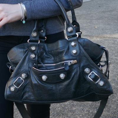 Balenciaga part time in black 2010 with SGH slouchy G21 hardware | awayfromtheblue