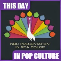 NBC aired it's first regular show to be seen in color on a regular basis on September 12, 1959.