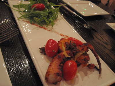 Bistecca Tuscan Steakhouse, octopus