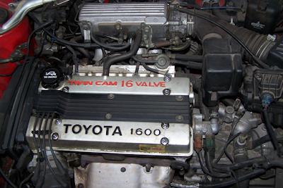 Jenis-Jenis Mesin Toyota 4AGE