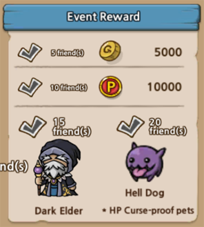 Share and Earn Event Rewards!