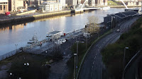 HMS Calliope Gateshead