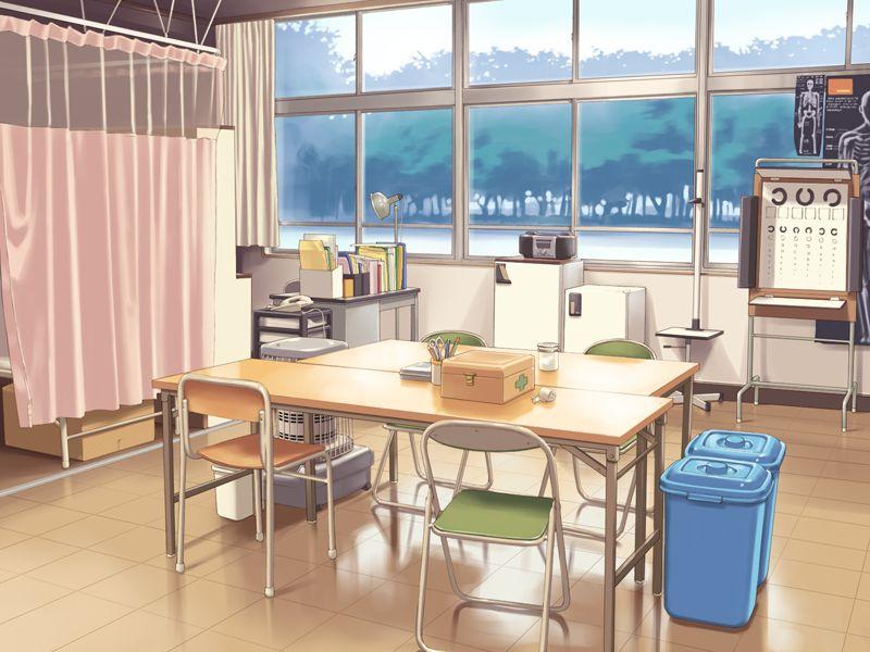 Hospital (Anime Background)