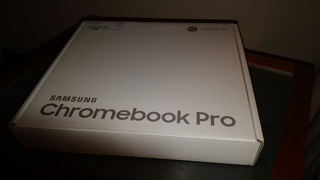 Finalmente estreno nuevo Chromebook para el verano, el Samsung Pro