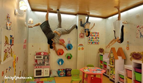 Upside Down World Cebu - kids' room - family time