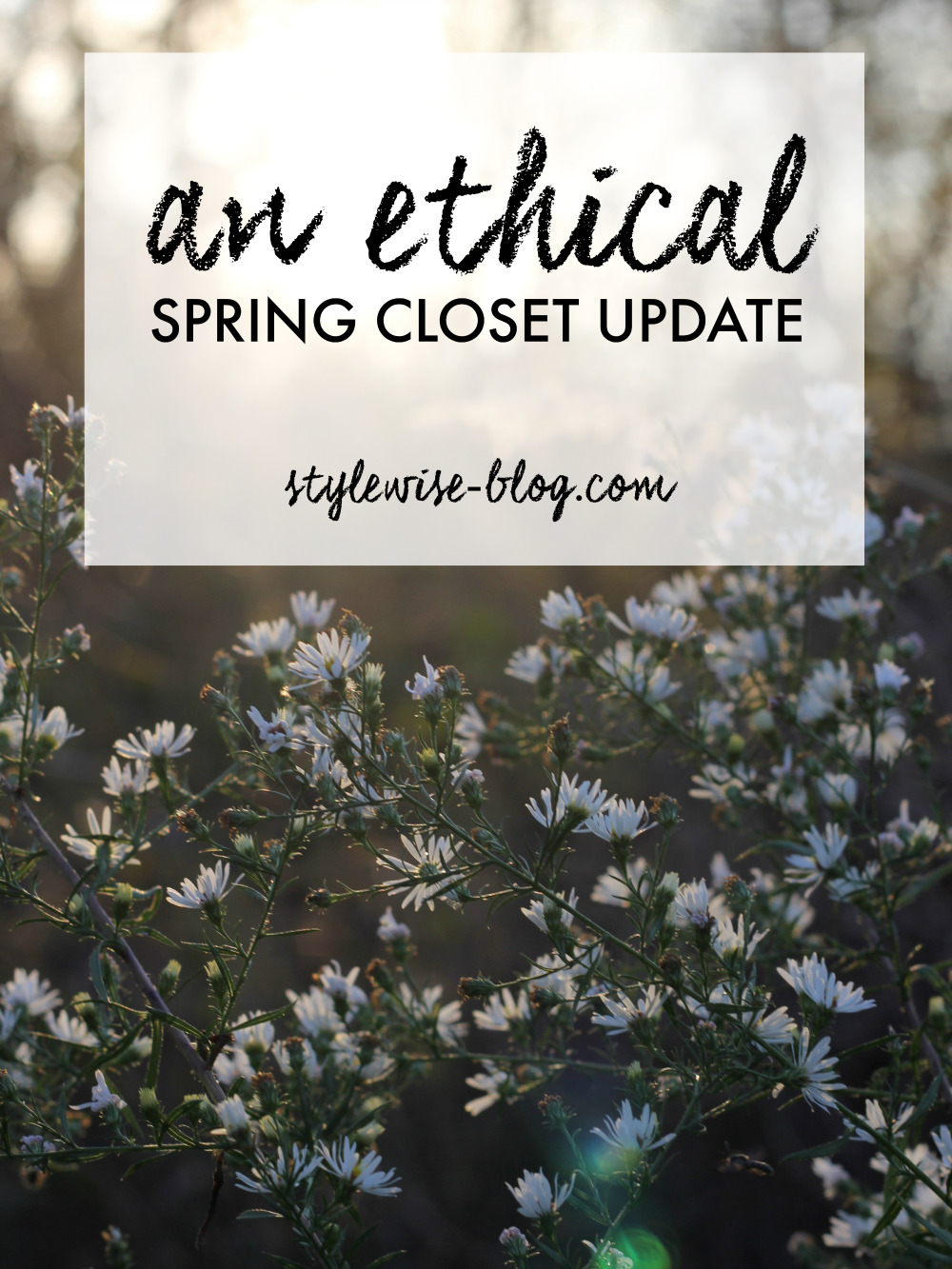 ethical and capsule closet - spring update, stylewise-blog.com