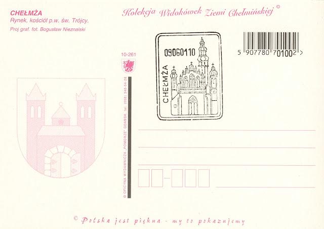 Chelmza postcard
