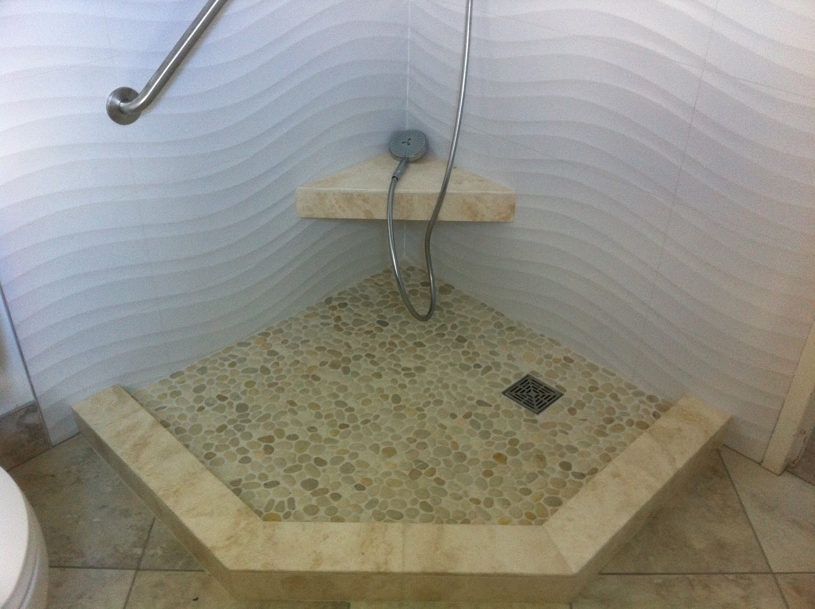 Maui Kai Wave Tile Shower Higher Standard Tile And Stone